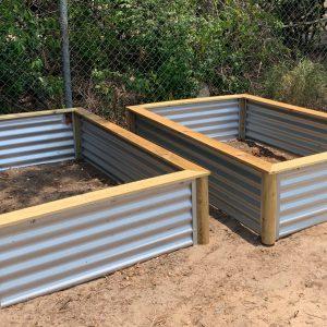 raised vegetable garden galvanized steel vancouver BC